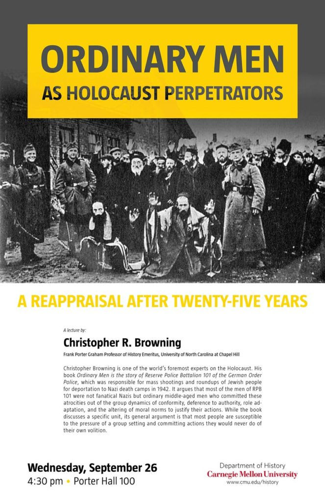 Ordinary Men as Holocaust Perpetrators