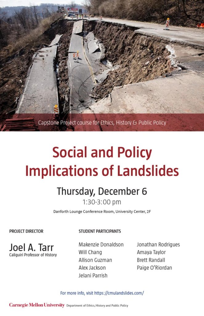 Social and Policy Implications of Landslides