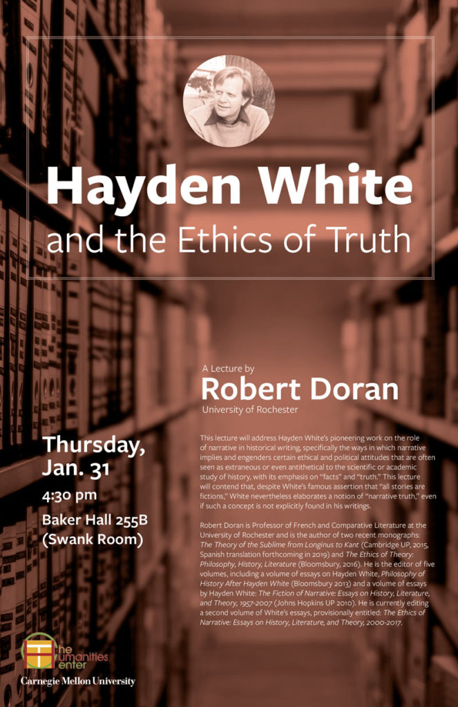 Hayden White and the Ethics of Truth